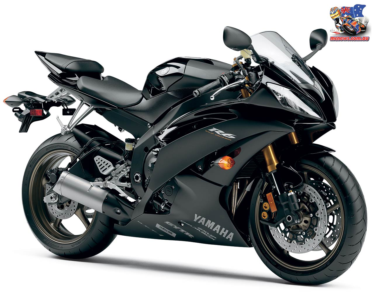 Black Yamaha R6 Wallpaper 7298 Hd Wallpapers in Bikes   Imagescicom 1280x1024