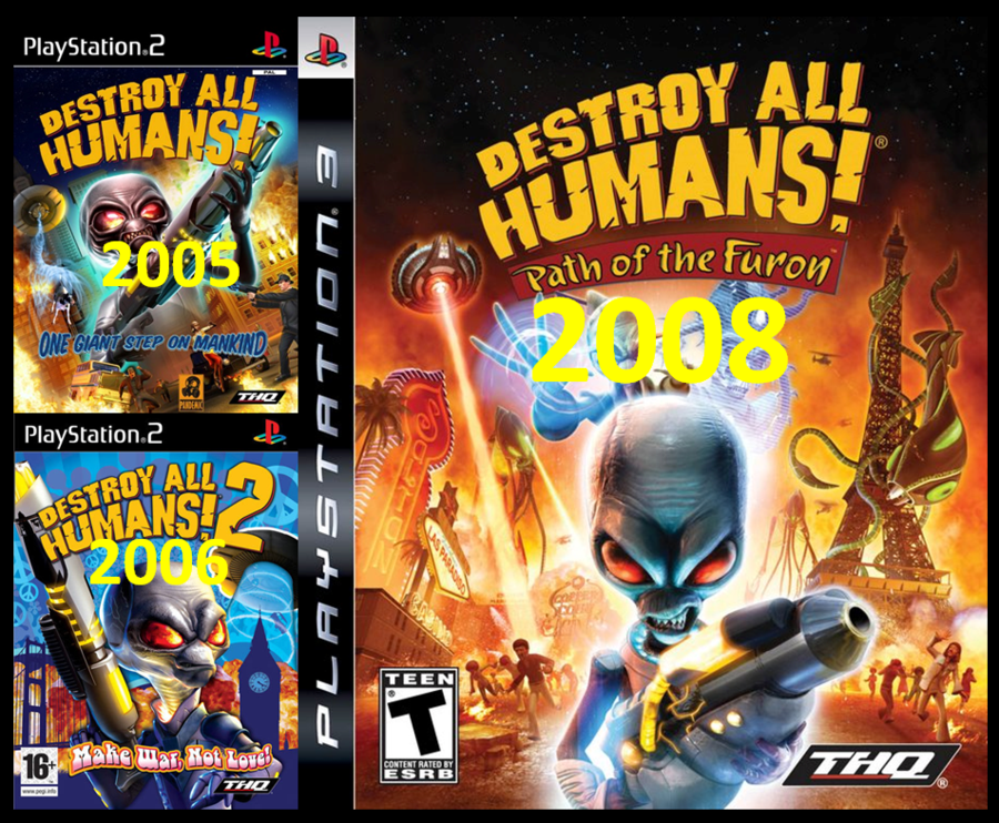Destroy All Humans by luisquintal on deviantART 900x742