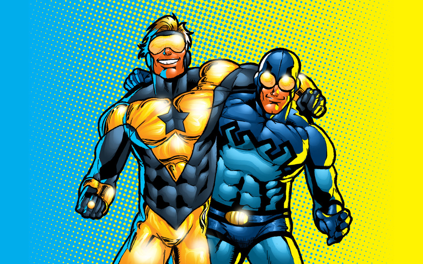 Booster Gold Wallpaper 13   1440 X 900 stmednet 1440x900