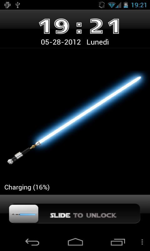 Star Wars HD GO Locker Theme   screenshot 480x800