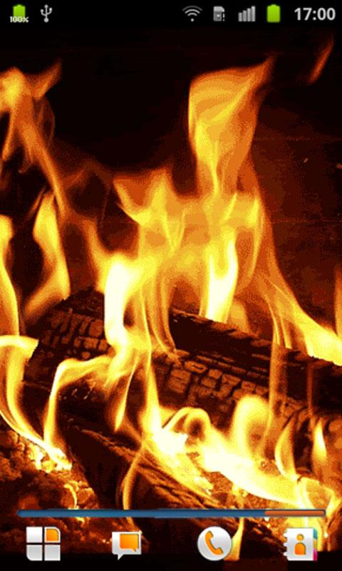 Fireplace Live Wallpaper   Android Apps on Google Play 480x800
