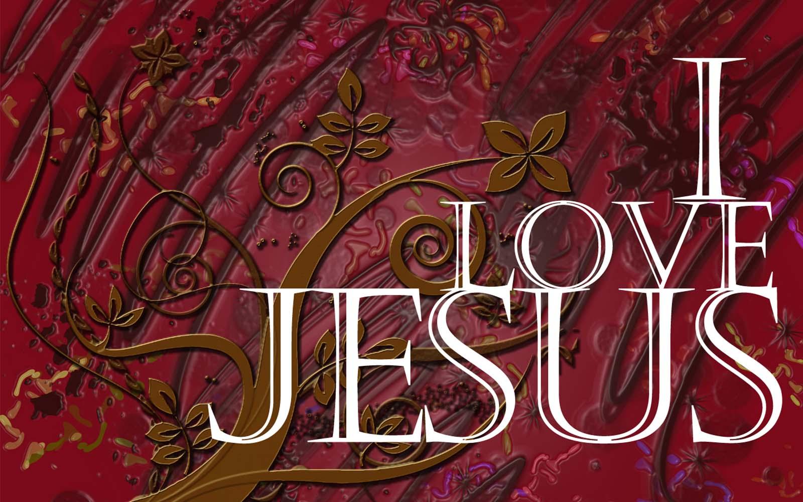 I Love Jesus Wallpapers 1600x1000