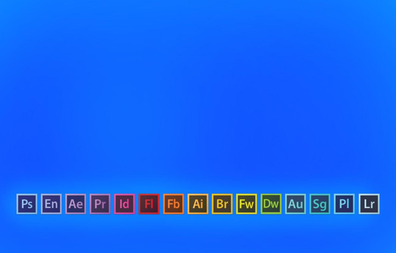 Wallpaper Photoshop Adobe Bridge Illustrator InDesign Flash 1332x850