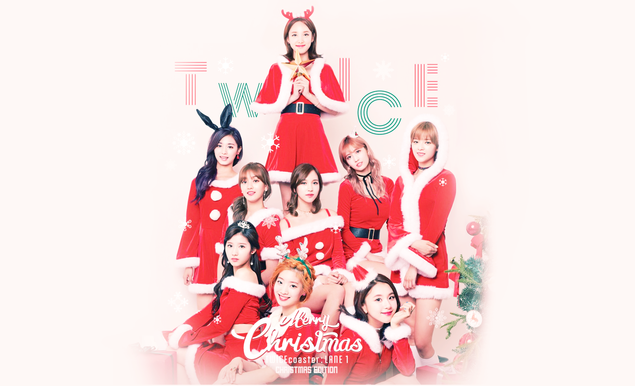 TWICE Christmas Wallpaper twice 2048x1246