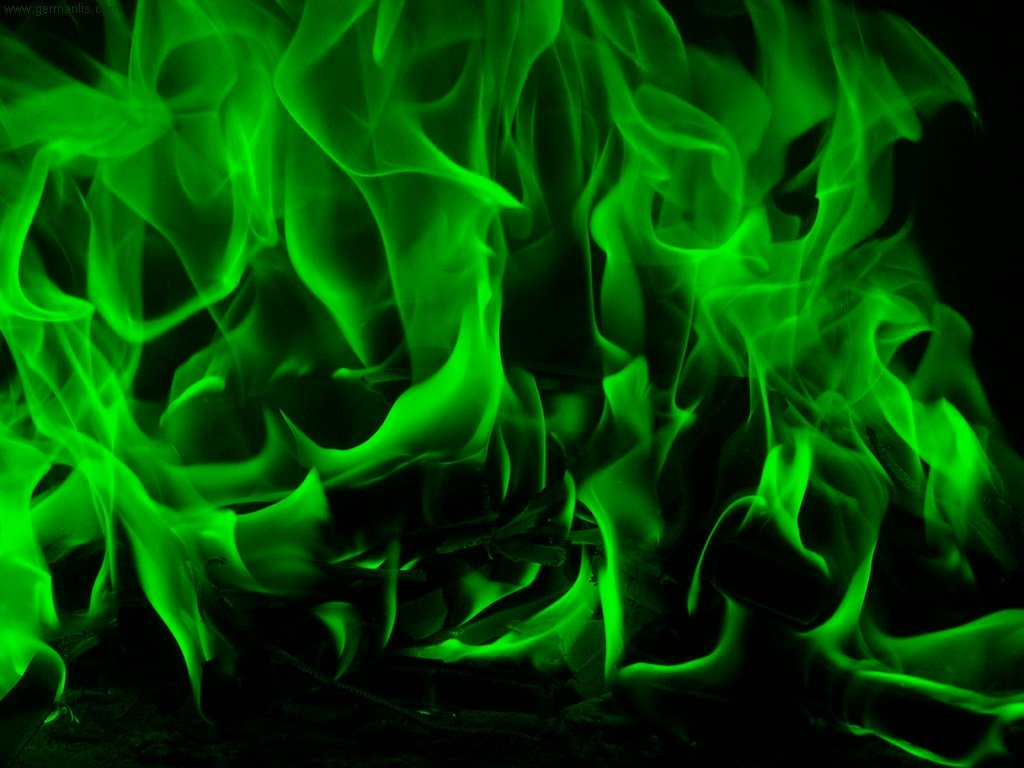 green fire wallpaper - photo #6