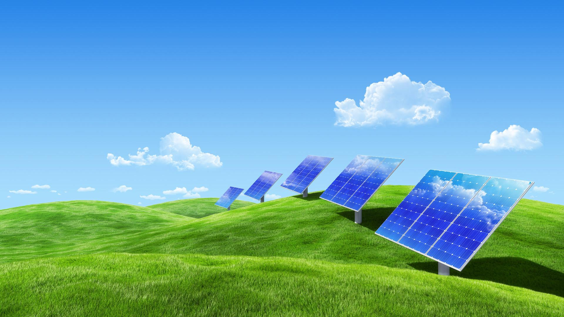 Scenic And Solar Energy For Xp Widescreen and HD background Wallpaper ...