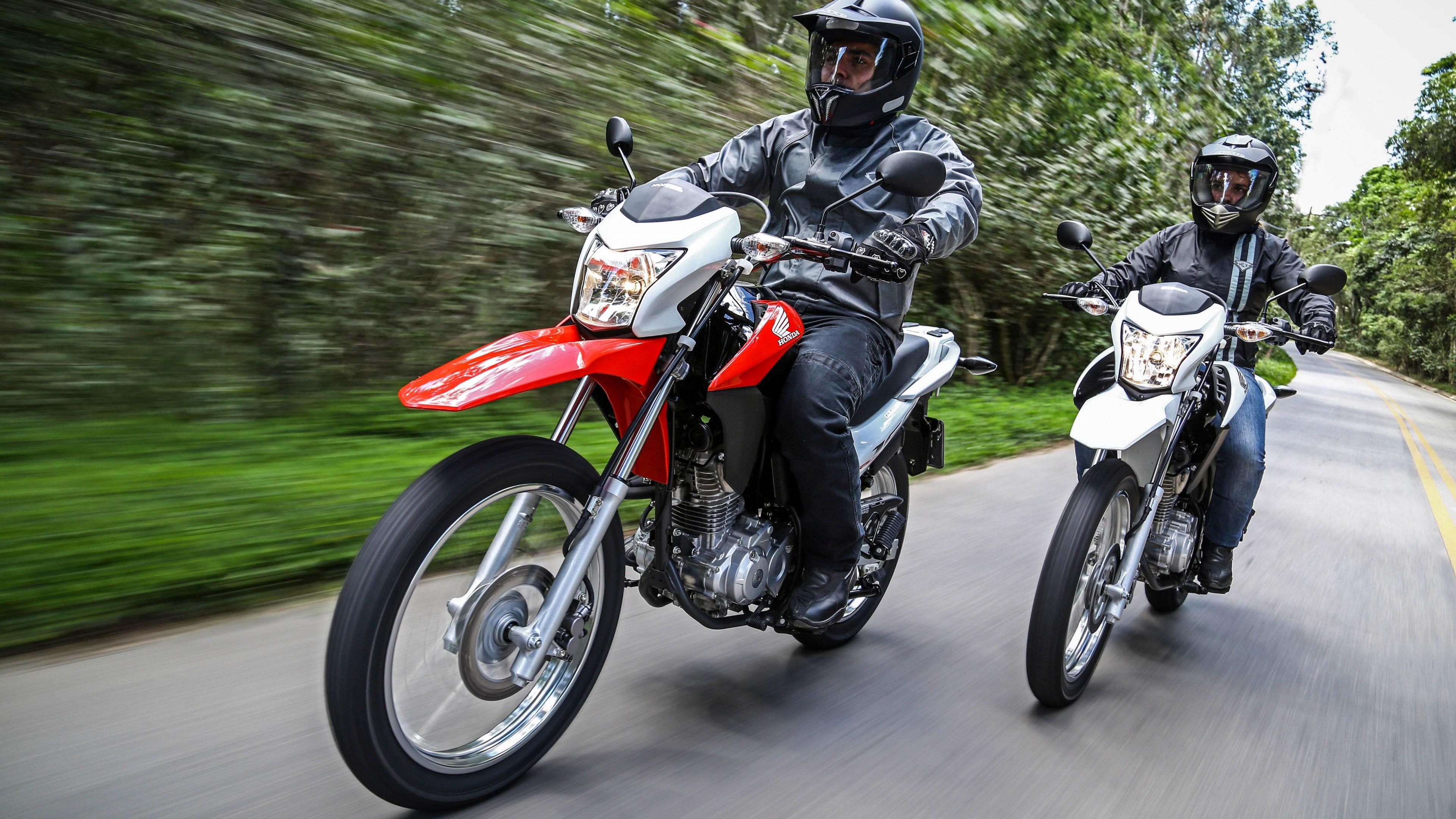 Wallpaper Honda Bros 160 MXR 160 Best Bikes 2015 motorcycle 3840x2160