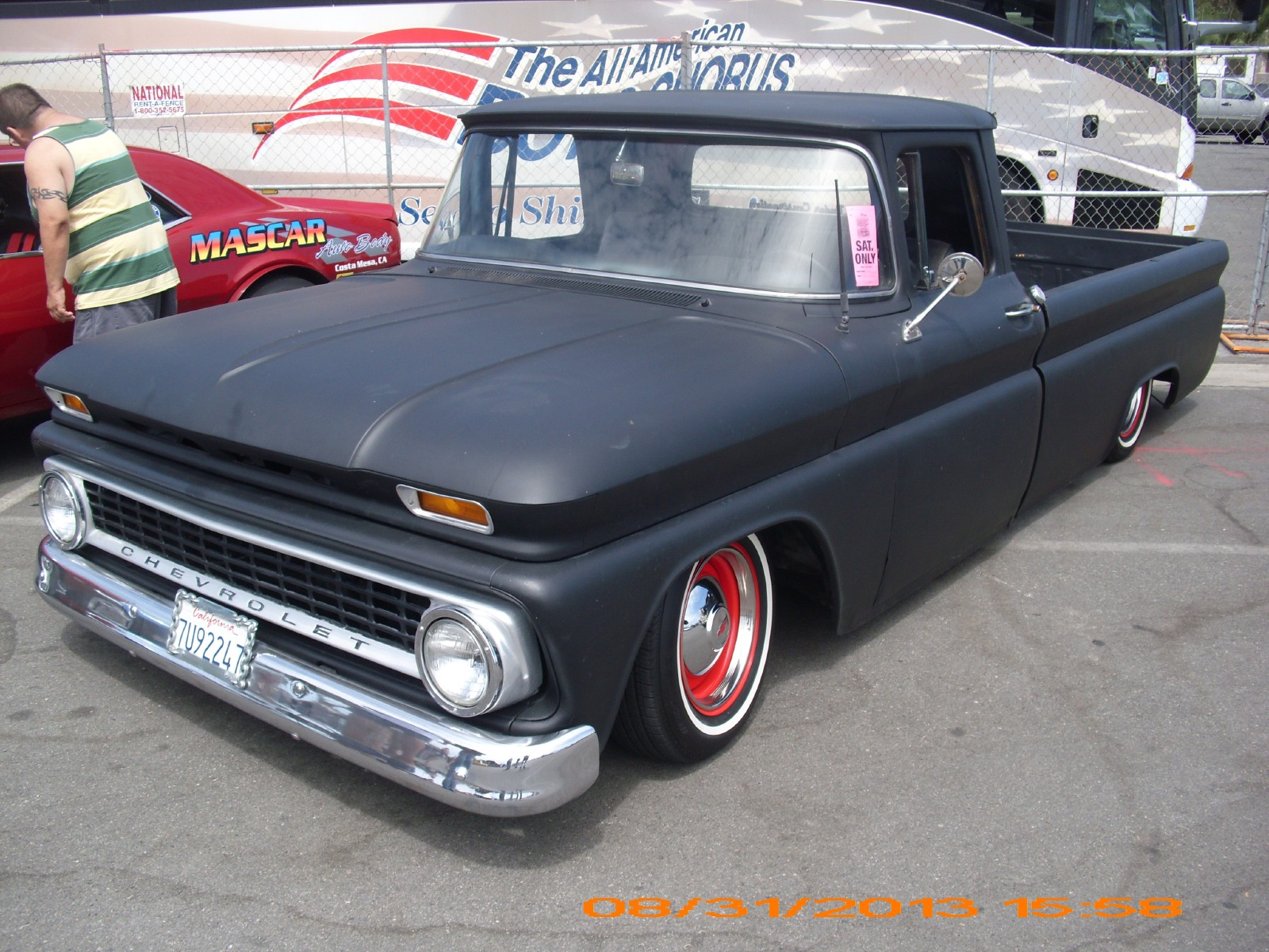 Wallpaper OLD SKOOL CHEVY TRUCK Chevrolet Show Truck Classic Cars 1600x1200