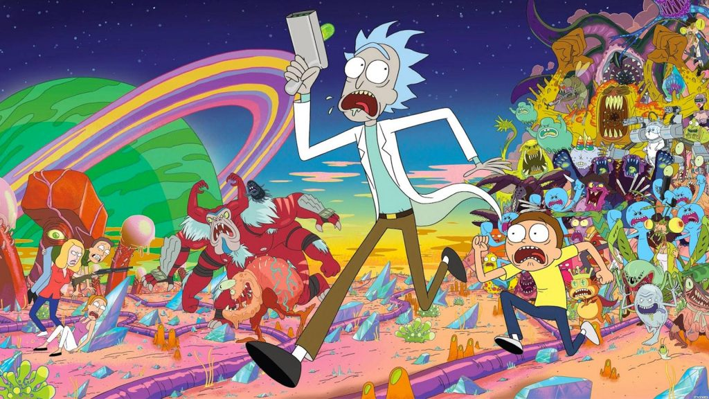 Top Rick And Morty Wallpaper Wallpapers 1024x576