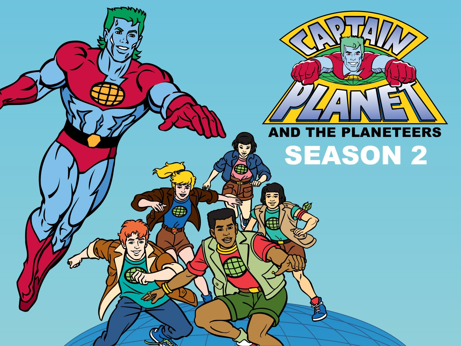 Amazoncom Watch Captain Planet and the Planeteers Season 2 1600x1200