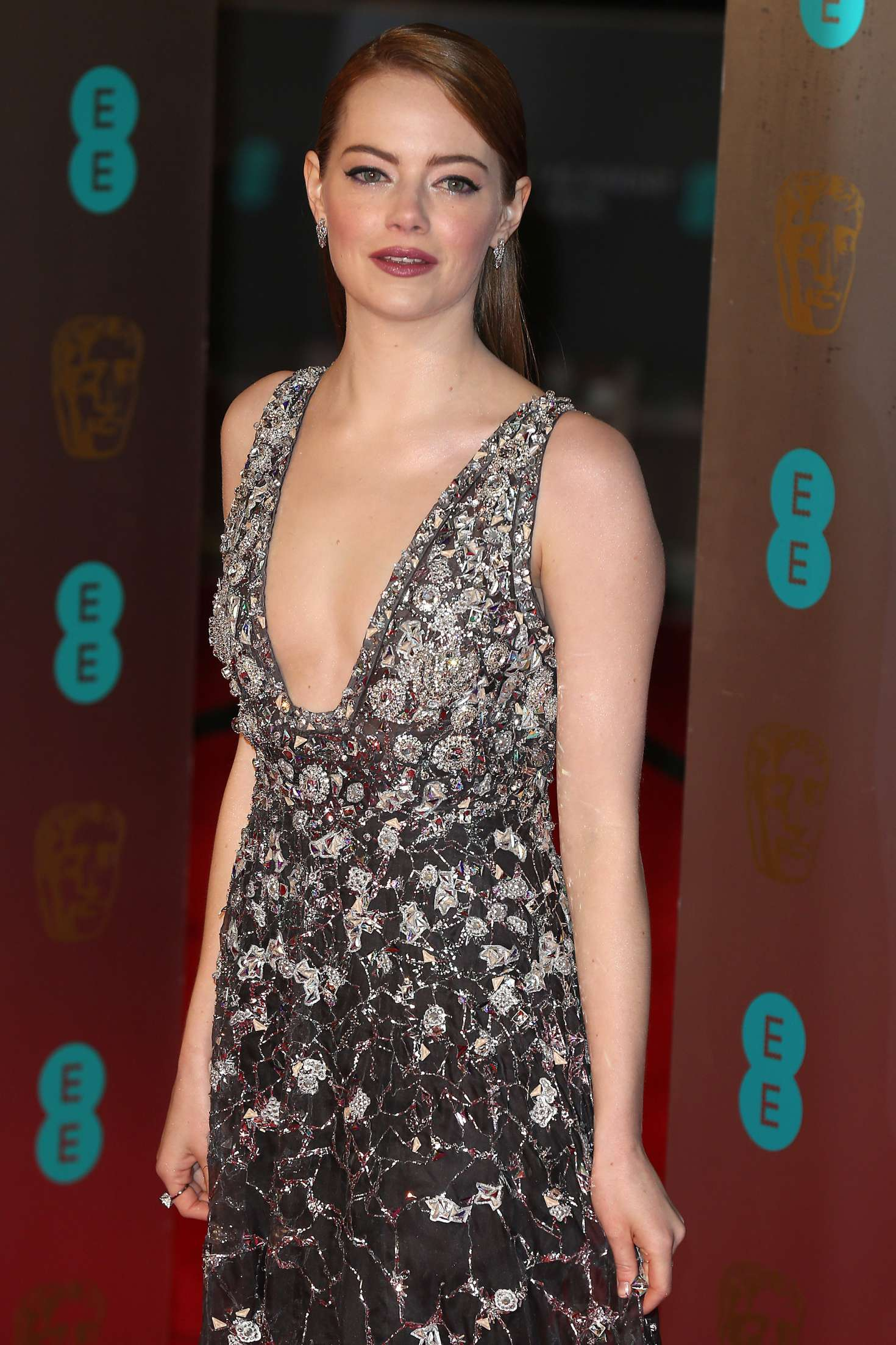 Emma Stone   2017 British Academy Film Awards in London 1470x2205