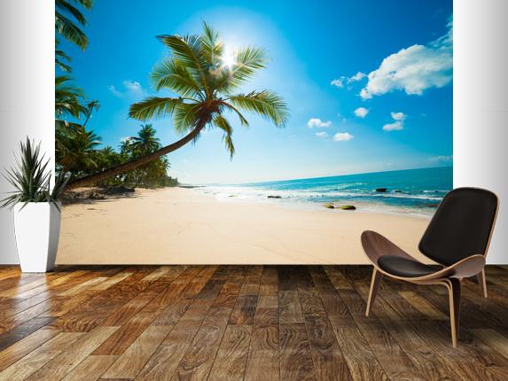 \ Wall Murals \ Photo Wallpaper \ Beach Wall Murals \Tropical Beach 573x430