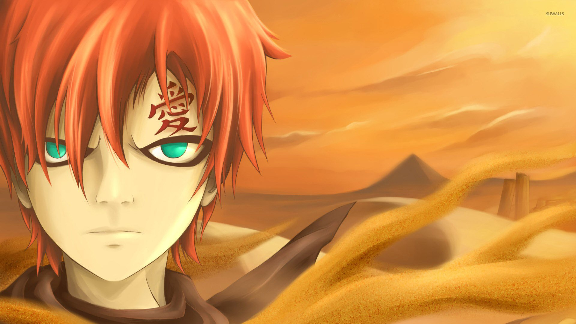 [49+] Gaara Wallpaper 1920x1080 on WallpaperSafari