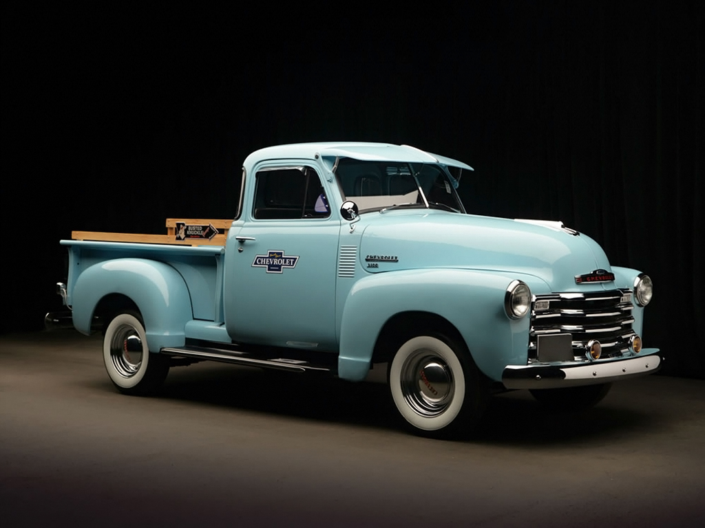 Chevrolet Wallpapers Chevrolet 3100 Pickup 1951 Wallpapers 1024x768