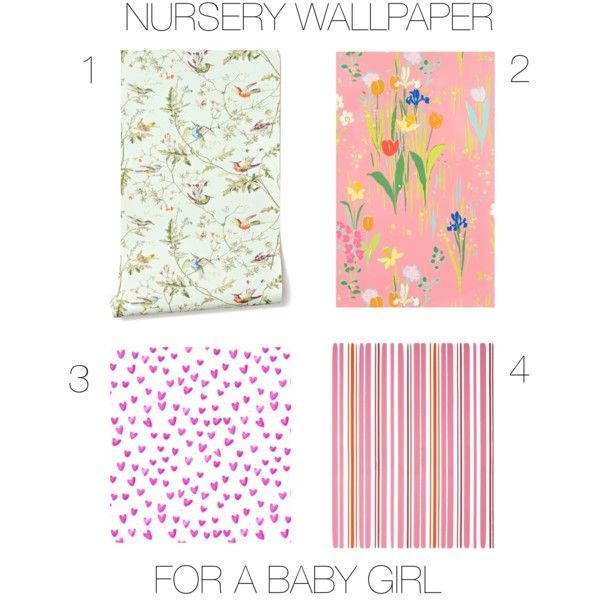 baby girl nursery wallpaper Oh Baby Baby Pinterest 600x600