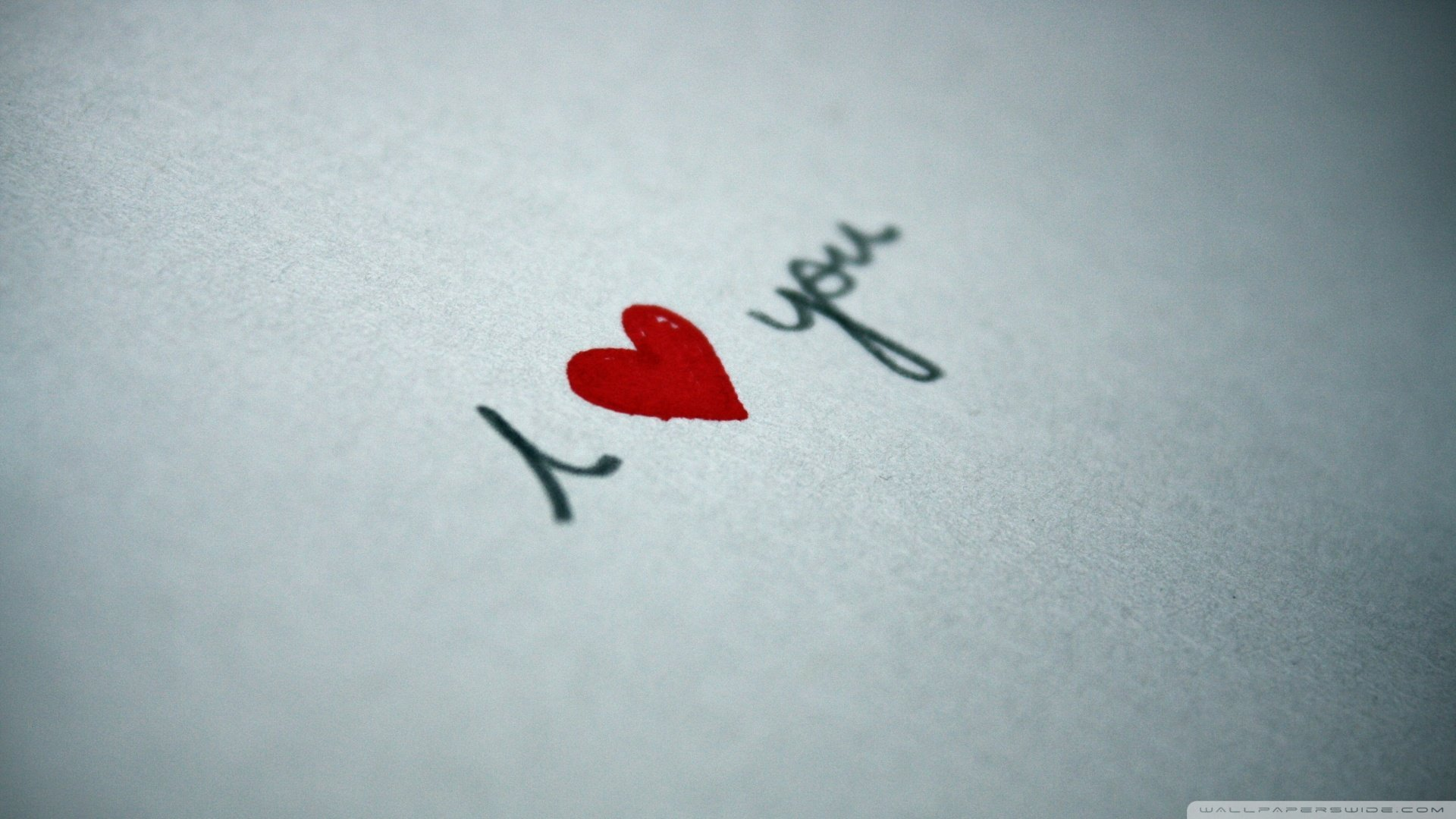 Download I Love You Written On Paper Wallpaper 1920x1080 1920x1080