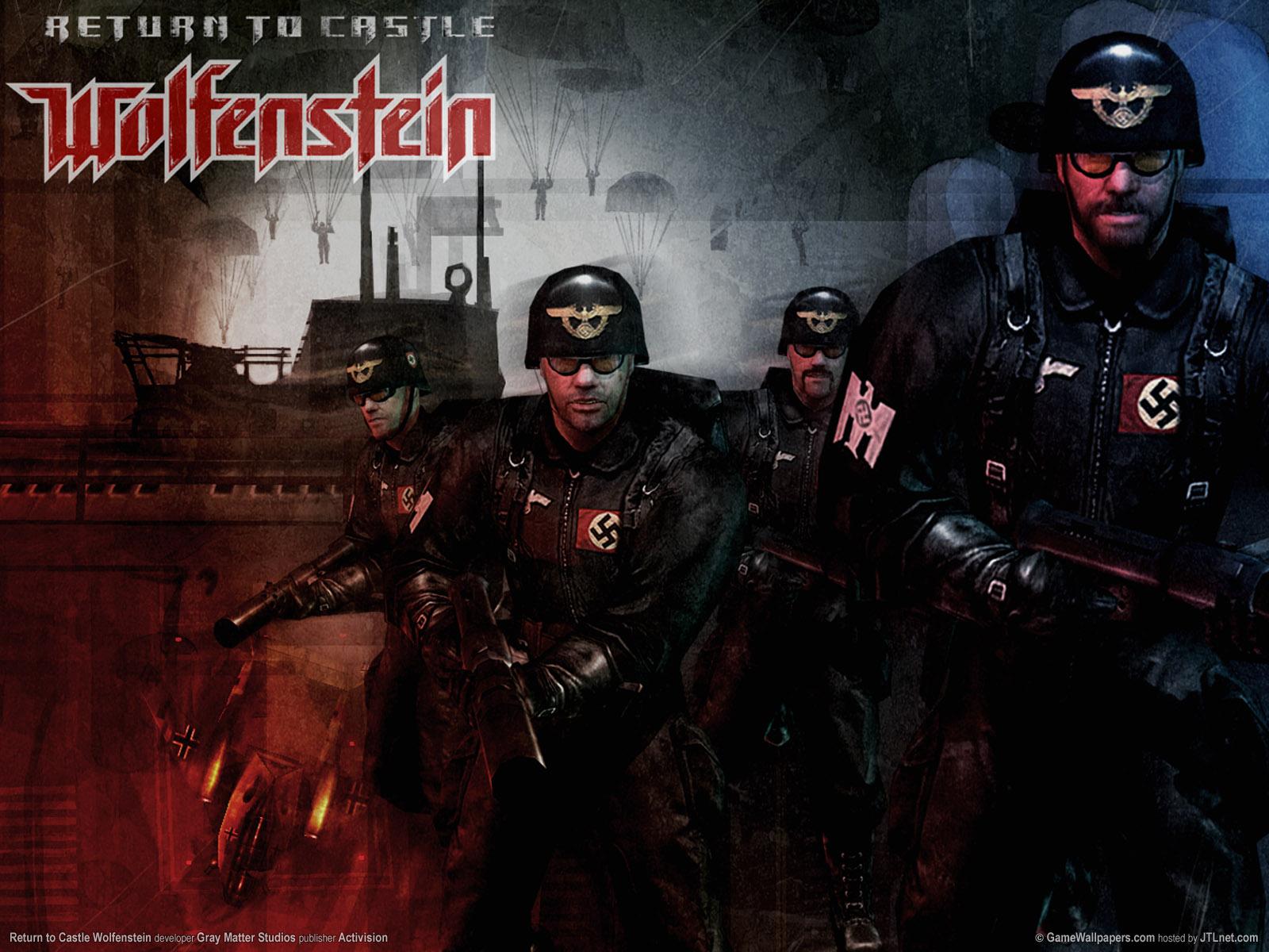 49 Return To Castle Wolfenstein Wallpaper On Wallpapersafari