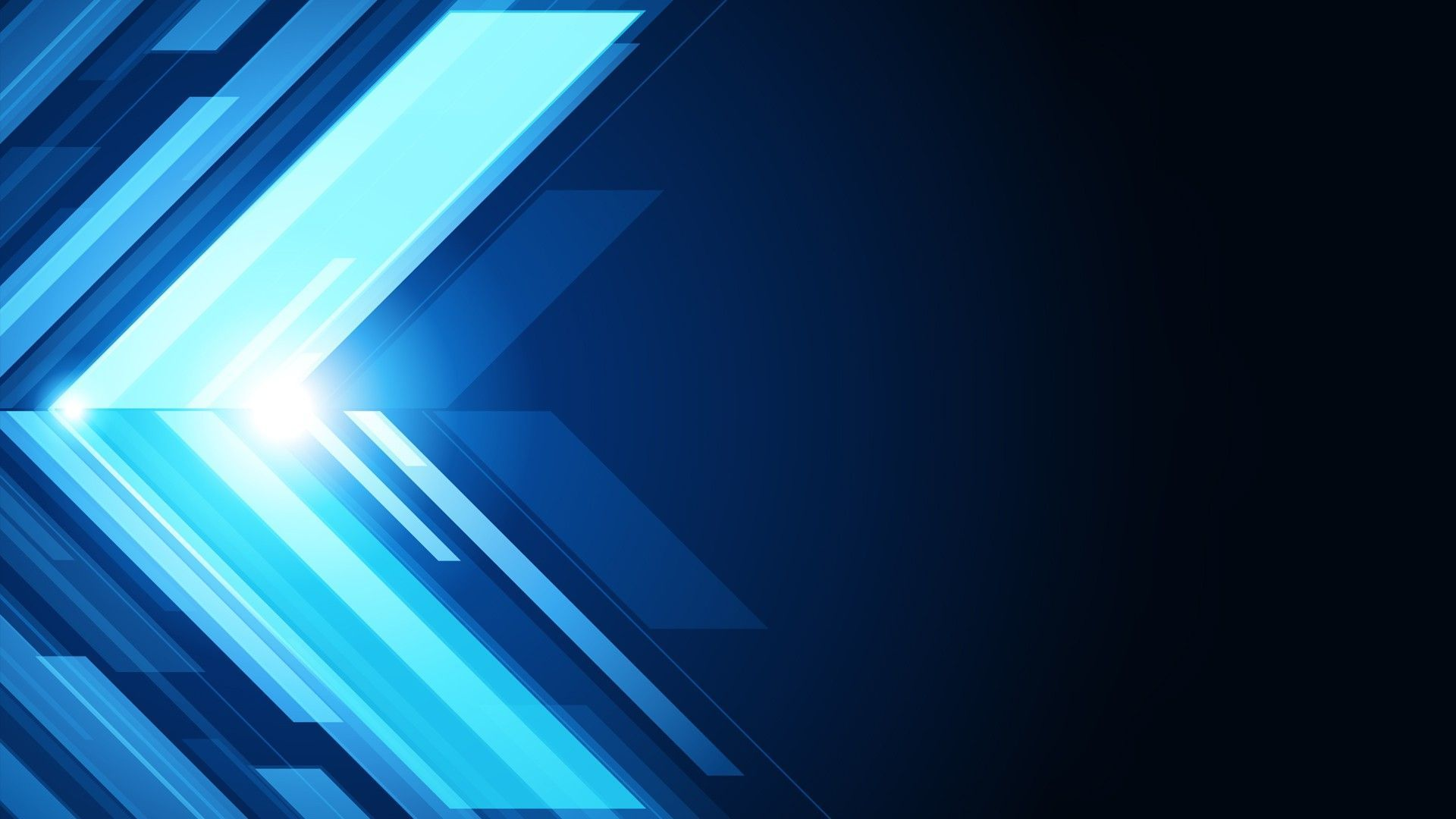 Blue Abstract Arrow HD Wallpapers 1920x1080