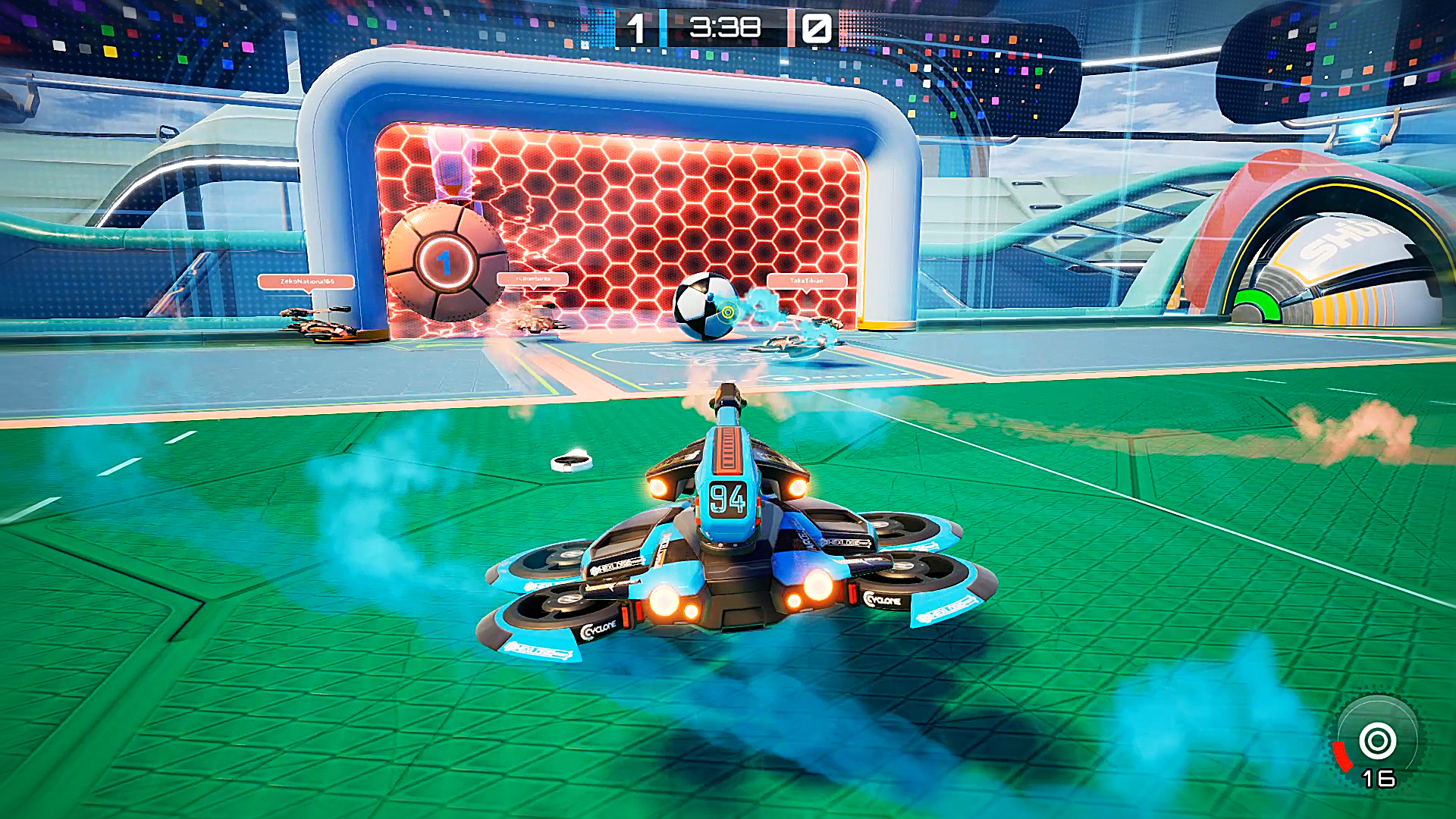 The Rocket League like Axiom Soccer is and out today on Steam 1920x1080