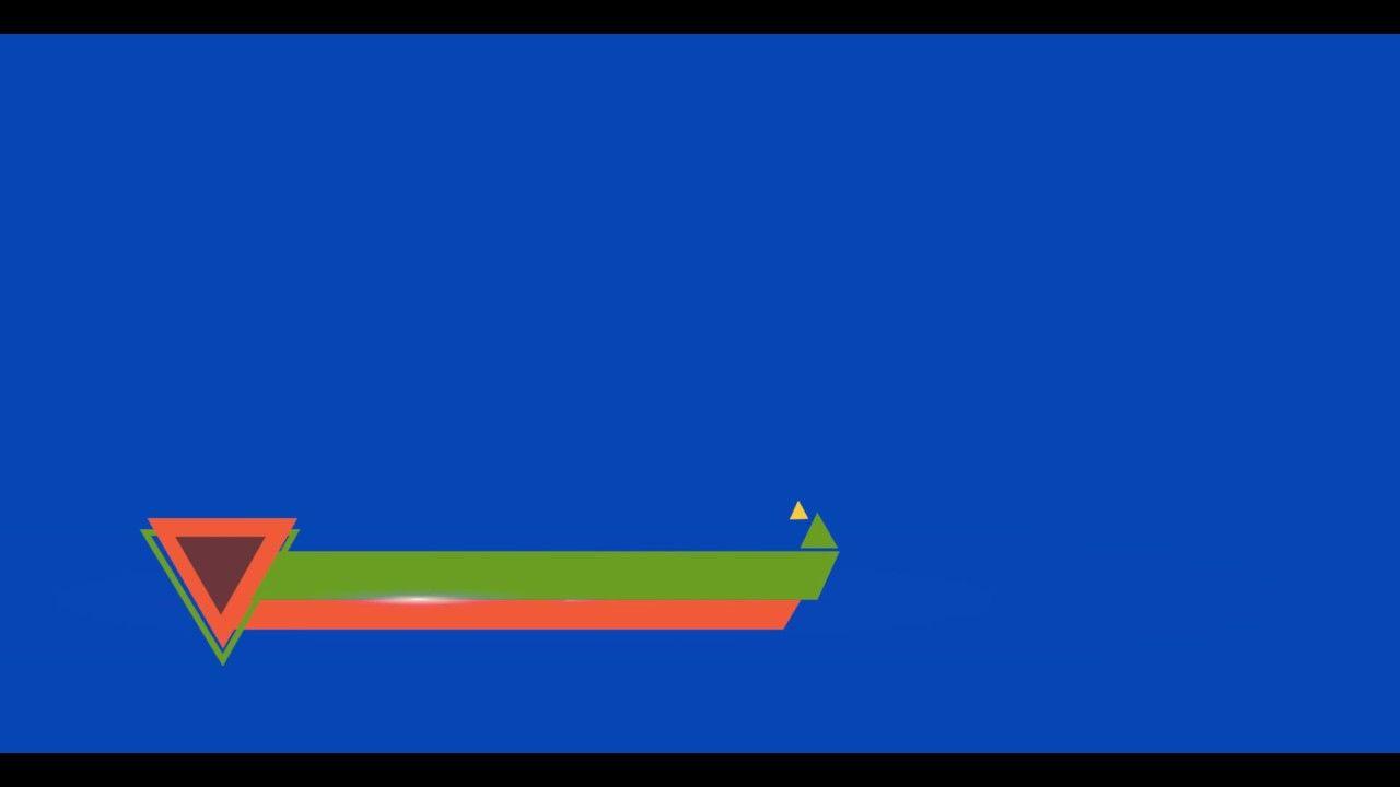 Best Lower Third Video backgrounds Green Screen HD 1280x720