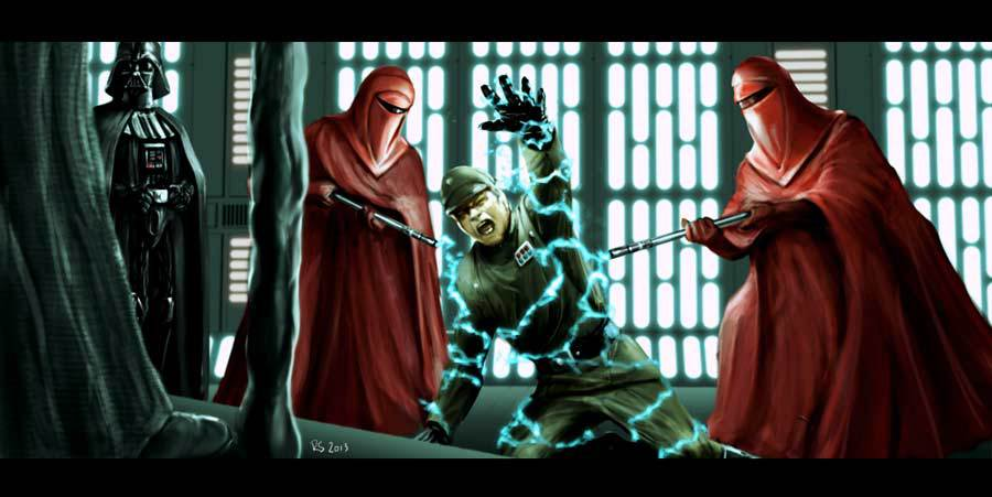 Star Wars Imperial Guard Art Showing the imperial guard 900x451
