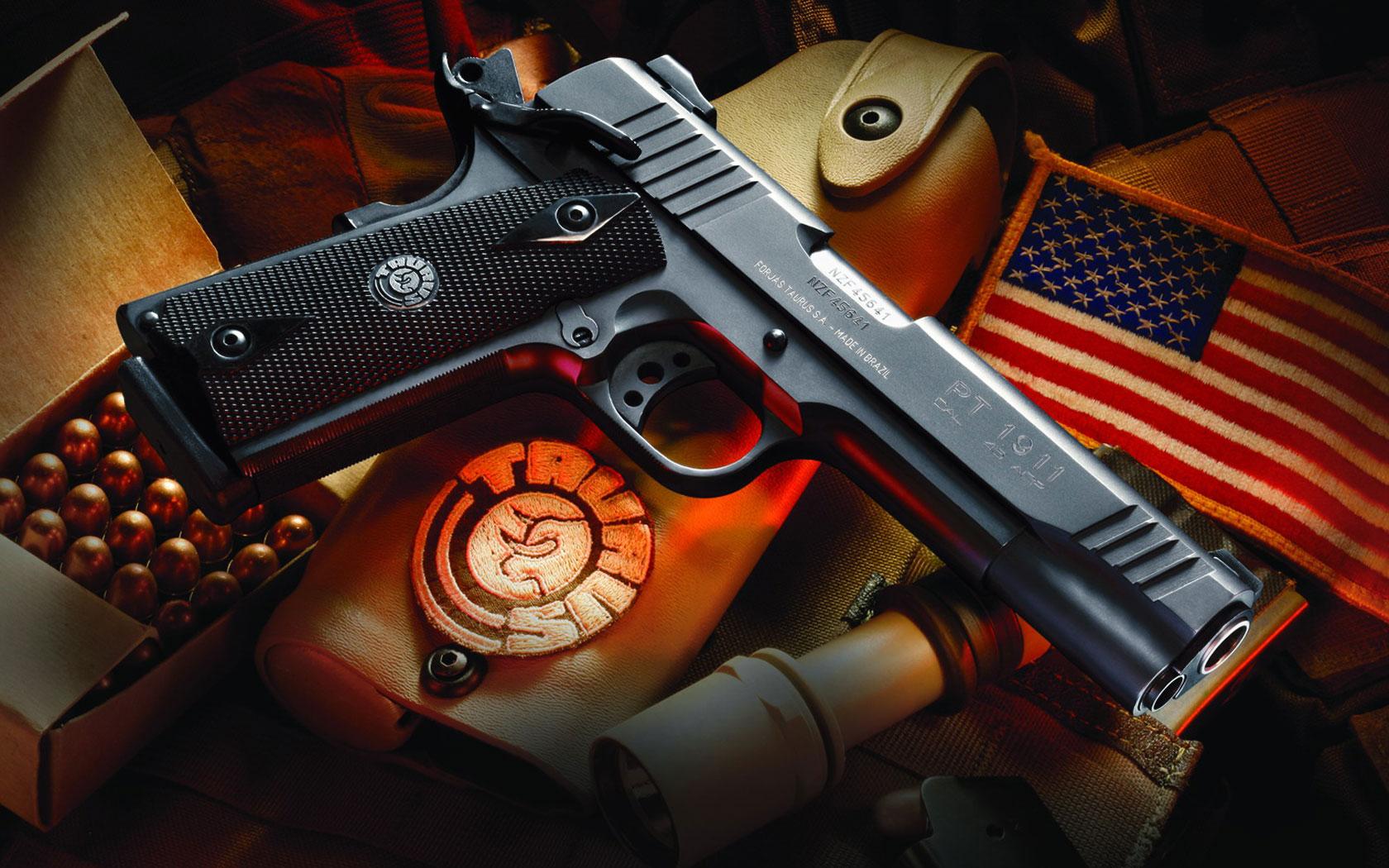 Taurus PT 1911 Guns Lot 1680x1050