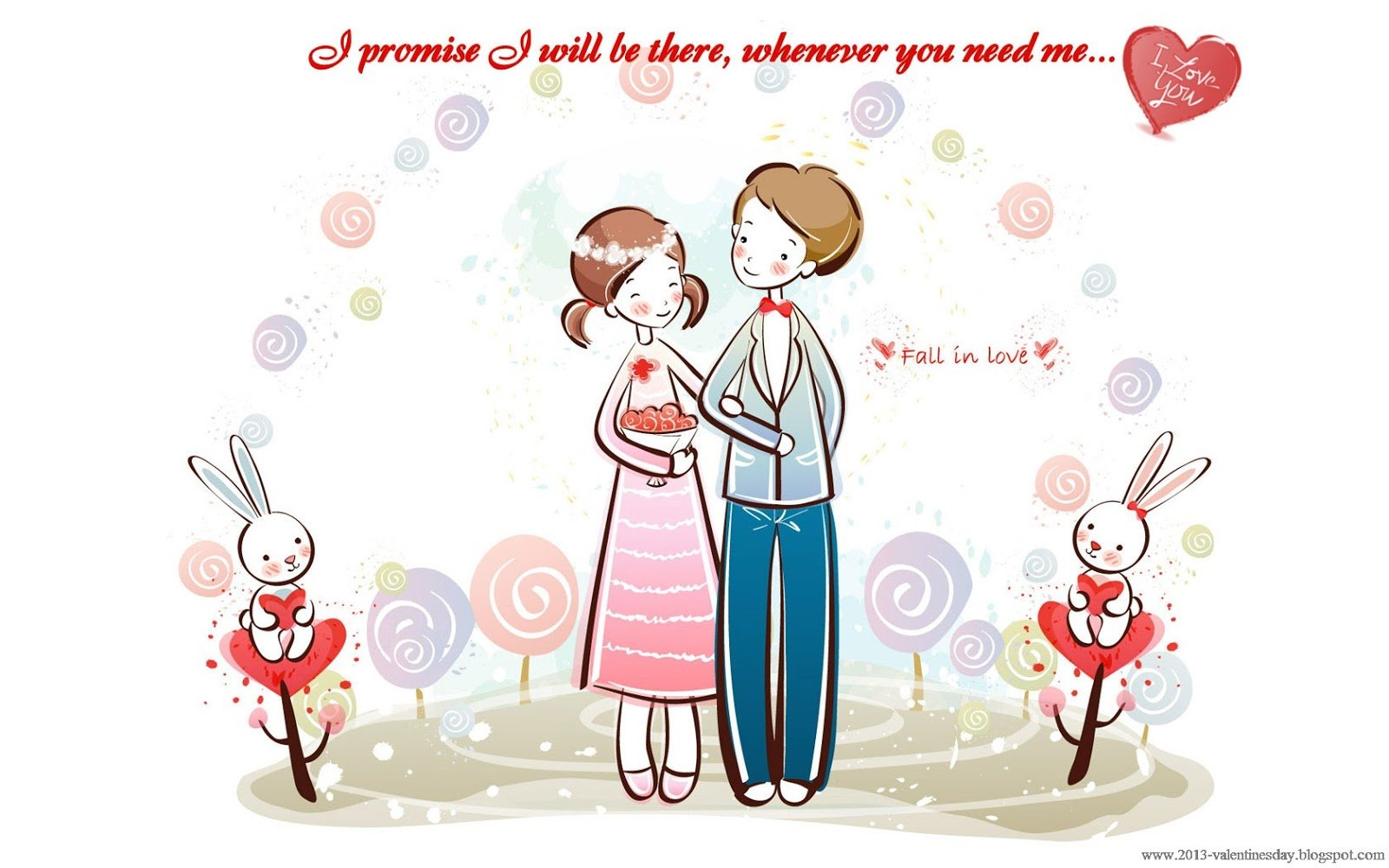 Cute Cartoon Couple Love Hd wallpapers for Valentines day Online 1600x1000