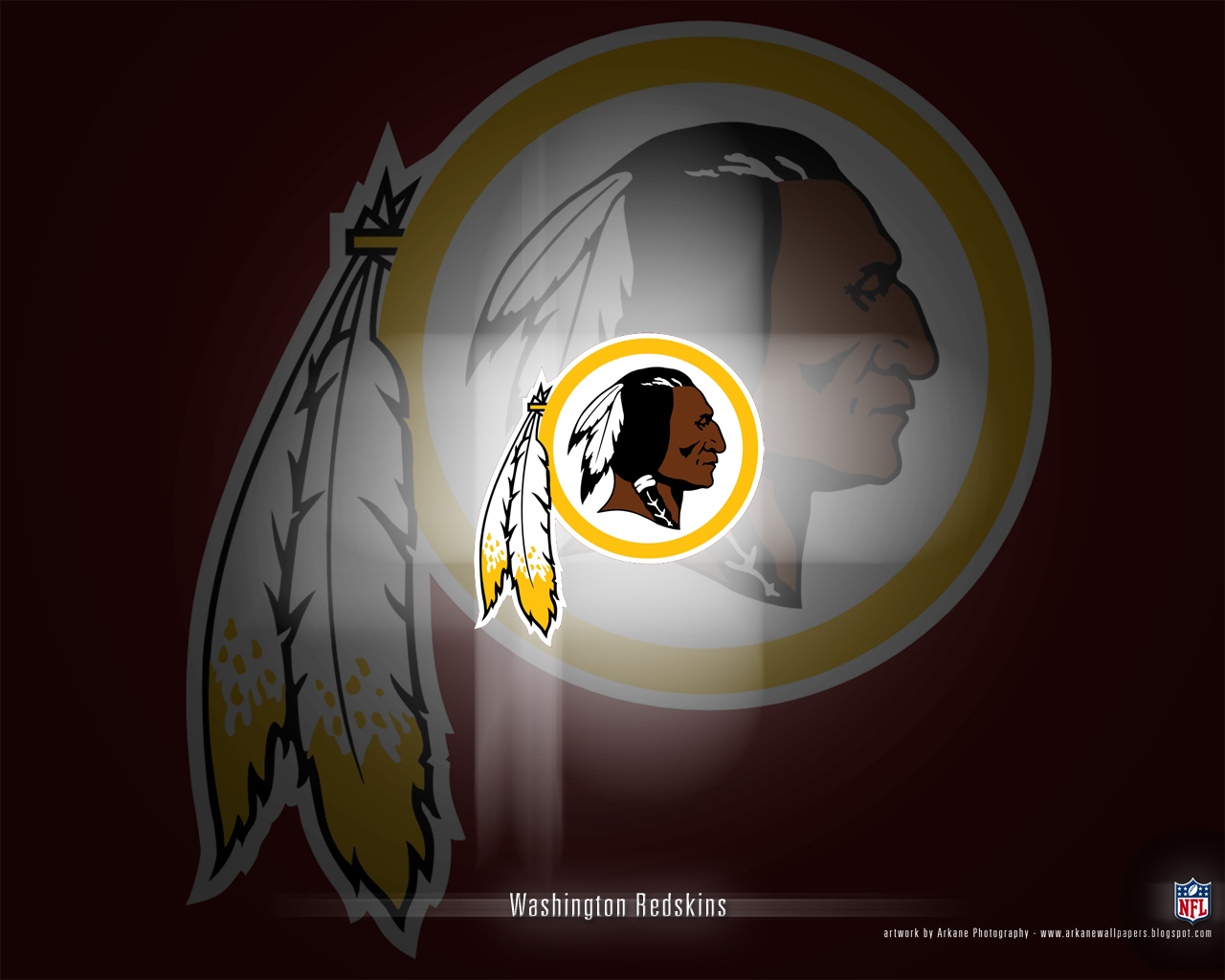 Arkane NFL Wallpapers Washington Redskins   Vol 1 1280x1024