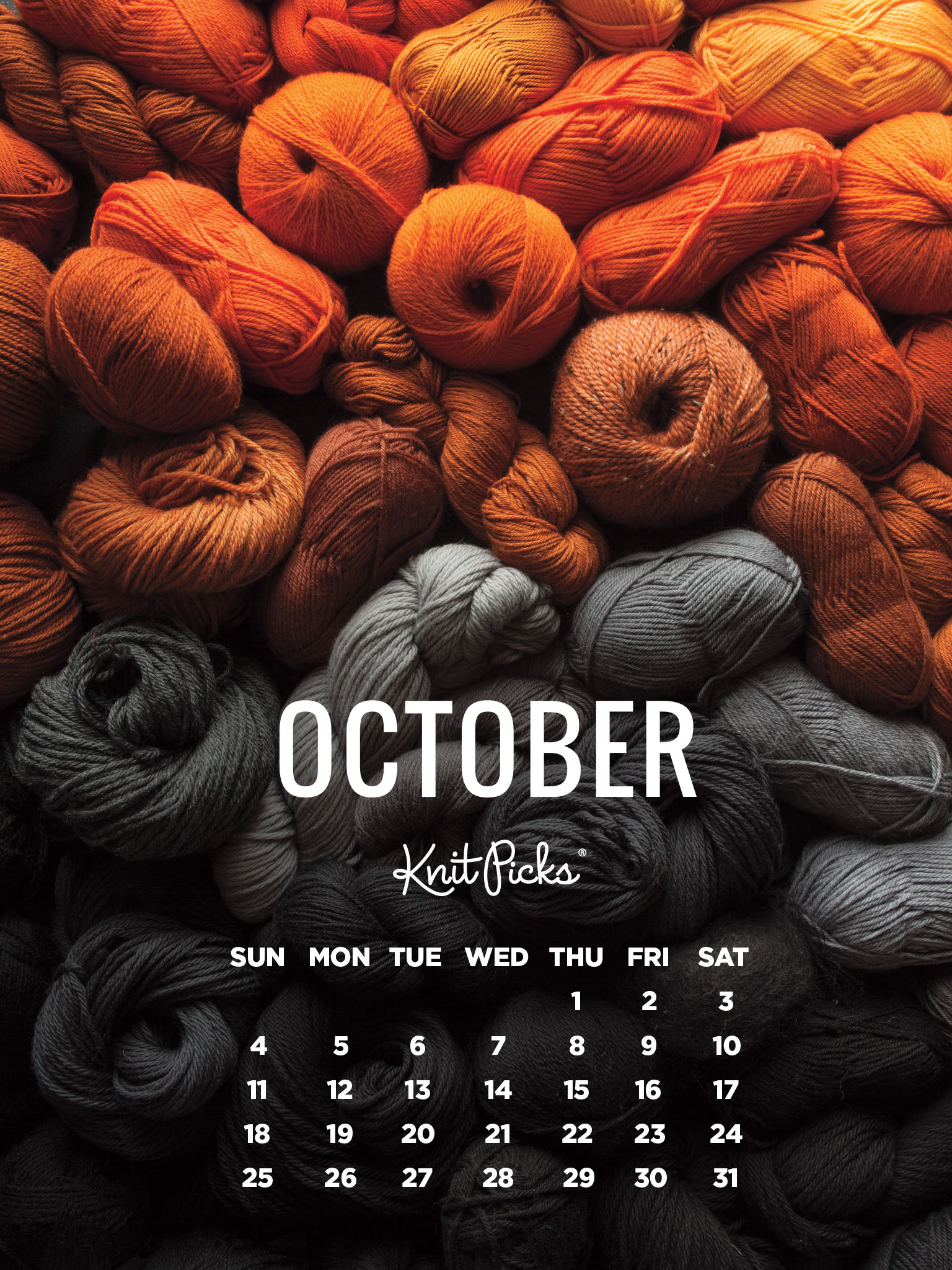 October 2015 Wallpaper Calendar   KnitPicks Staff Knitting Blog 1536x2048