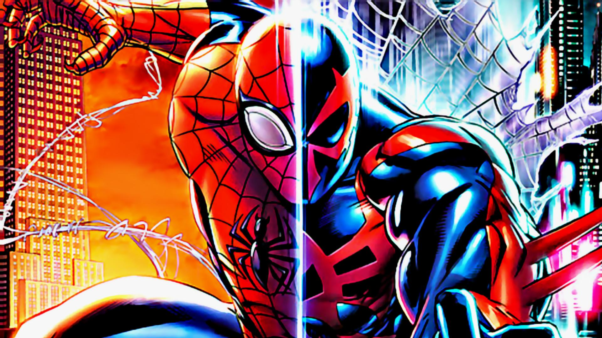 41 Spider Man 2099 Hd Wallpaper On Wallpapersafari