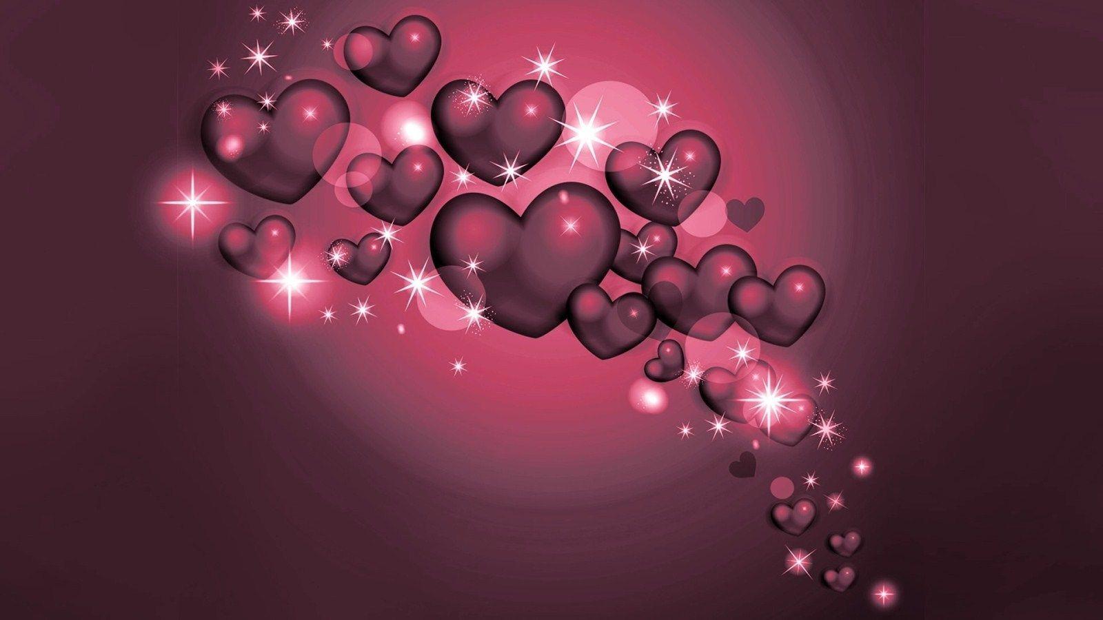 Love Heart Wallpaper 12   [1600x900] 1600x900
