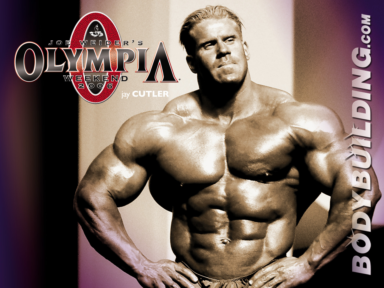 Download High quality Jay Cutler Olympia Body 1600x1200
