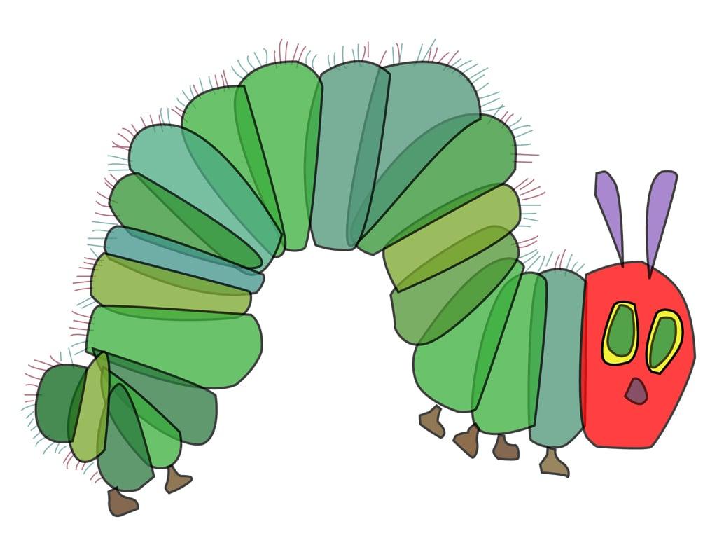 Very Hungry Caterpillar Clip Very Hungry Caterpillar Graphics 1024x768