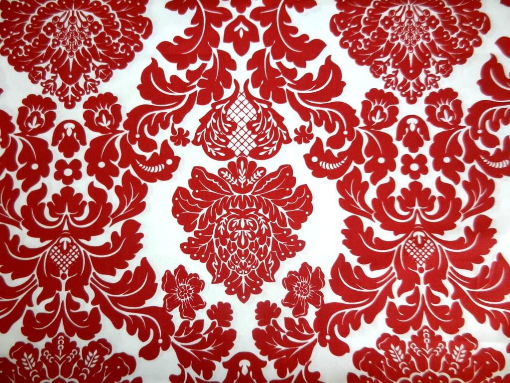 Red Damask Pattern Red damask wallpaperdamask 1024x768