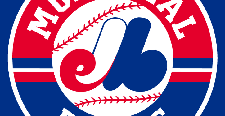 Montreal Expos   Primary Mark Expos Blue background 1992 2004 725x375