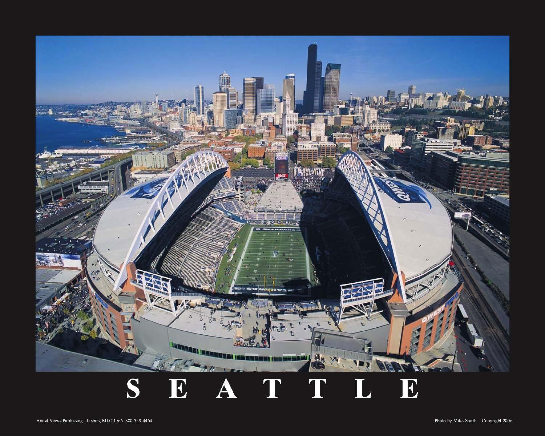 Seattle Seahawks Football Field Wallpaper Wallpapersafari