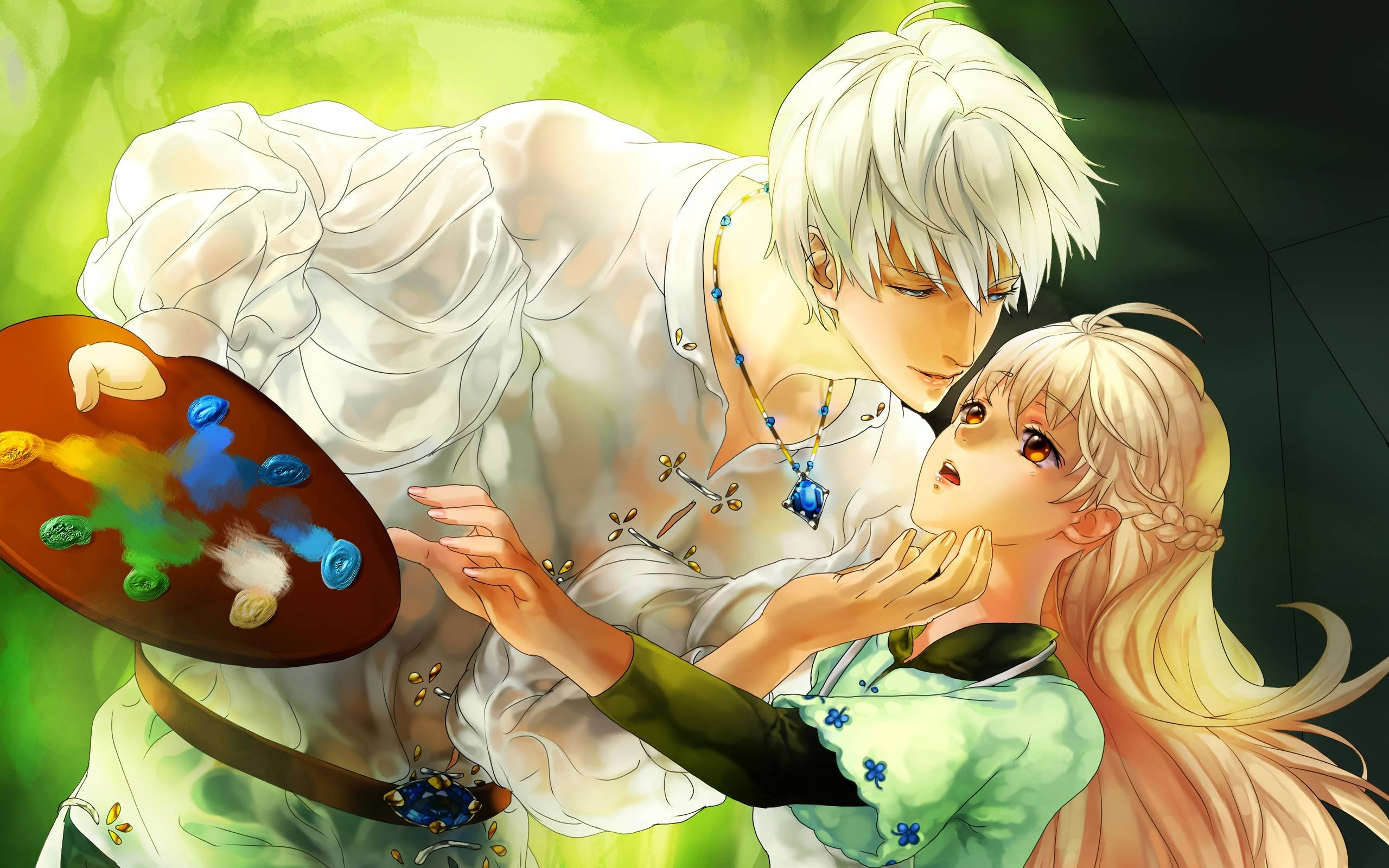 Love couple Wallpaper Animated : Romantic Anime Wallpapers - WallpaperSafari