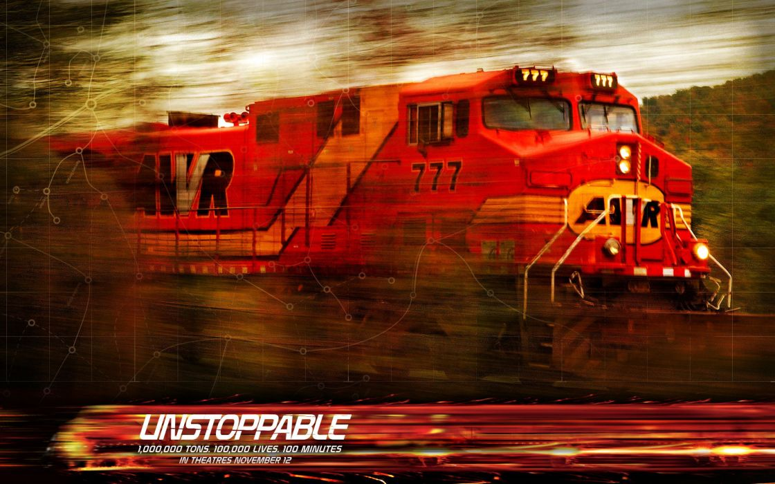 Unstoppable disaster movie train wallpaper 1920x1200 210721 1120x700