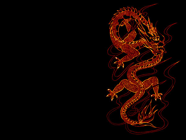 Ancient Chinese Dragon Art Wallpaper Chinese dragon wallpaper by 600x450