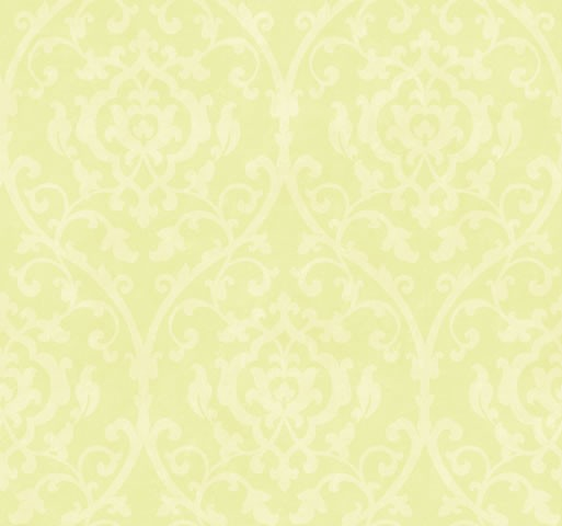 Wallpaper Designer Off White Leaf Trellis Lattice Scroll on Lime Green 513x480