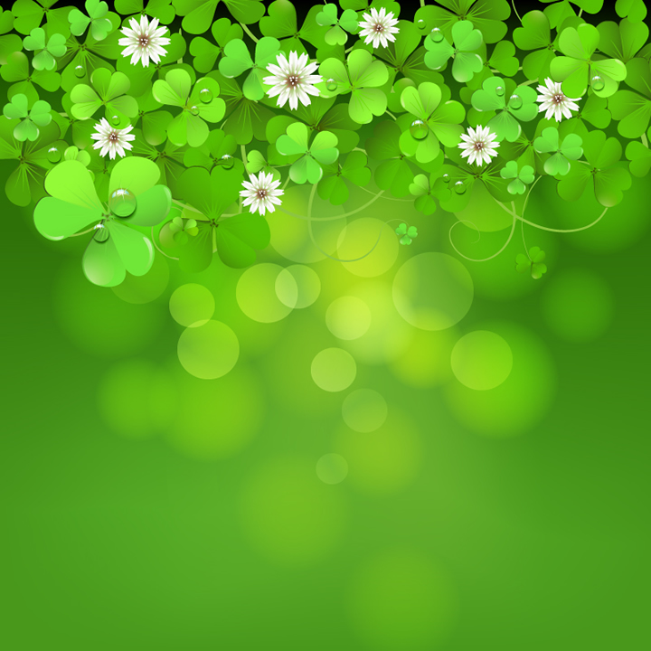 Shamrock Vector Download Clover plexus background 720x720