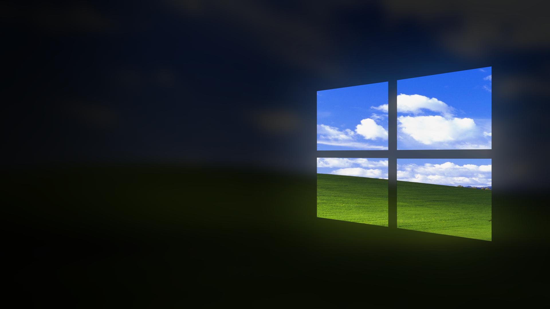 I made a basic Windows 10XP wallpaper 19201080 Windows10 1920x1080