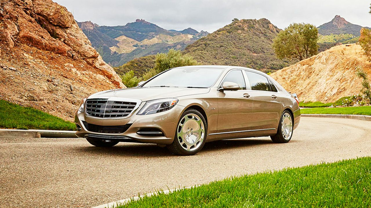 2017 Mercedes Benz S Class Maybach S600 Sedan HD Car 1280x720
