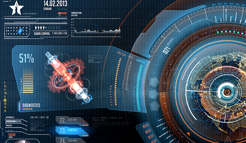 Futuristic Interface Wallpaper 2rise ventuz future interfacejpg 860x500