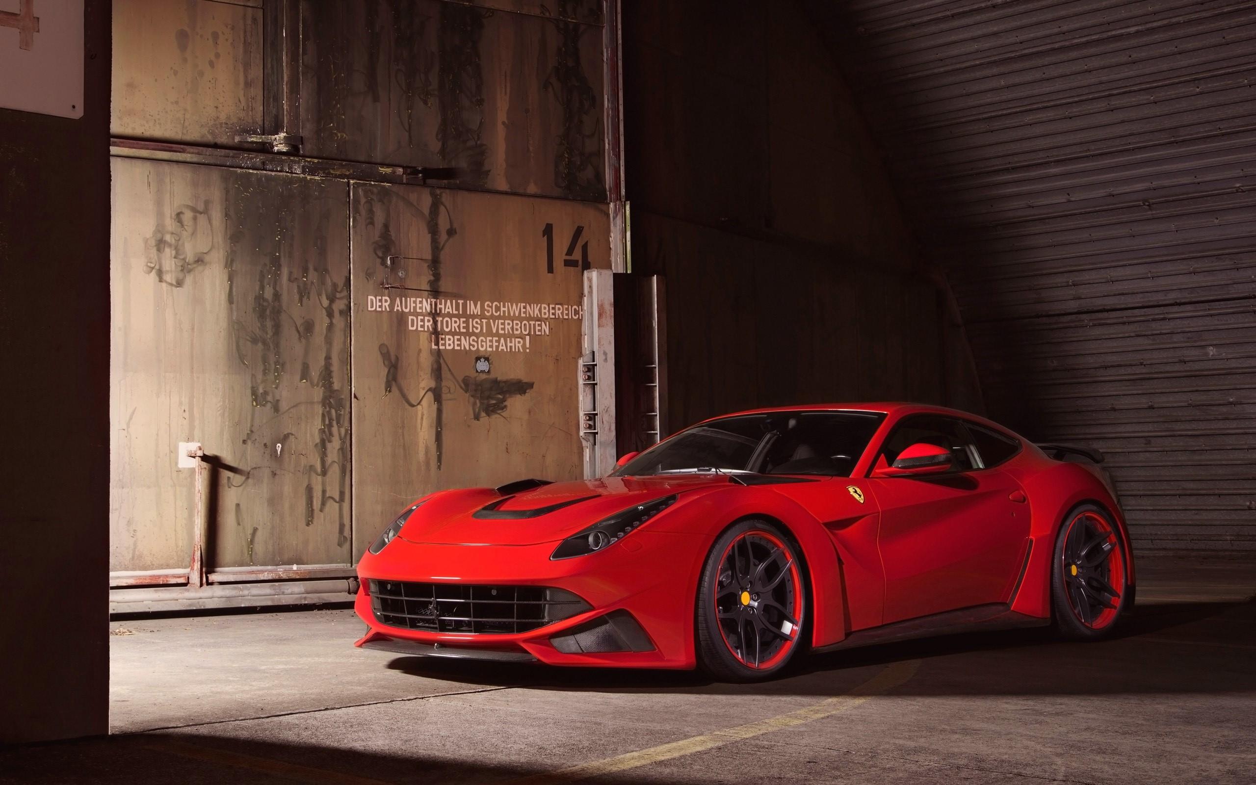 Ferrari F12 Berlinetta Novitec Rosso N Largo Wallpaper 2k Quad HD 2560x1600