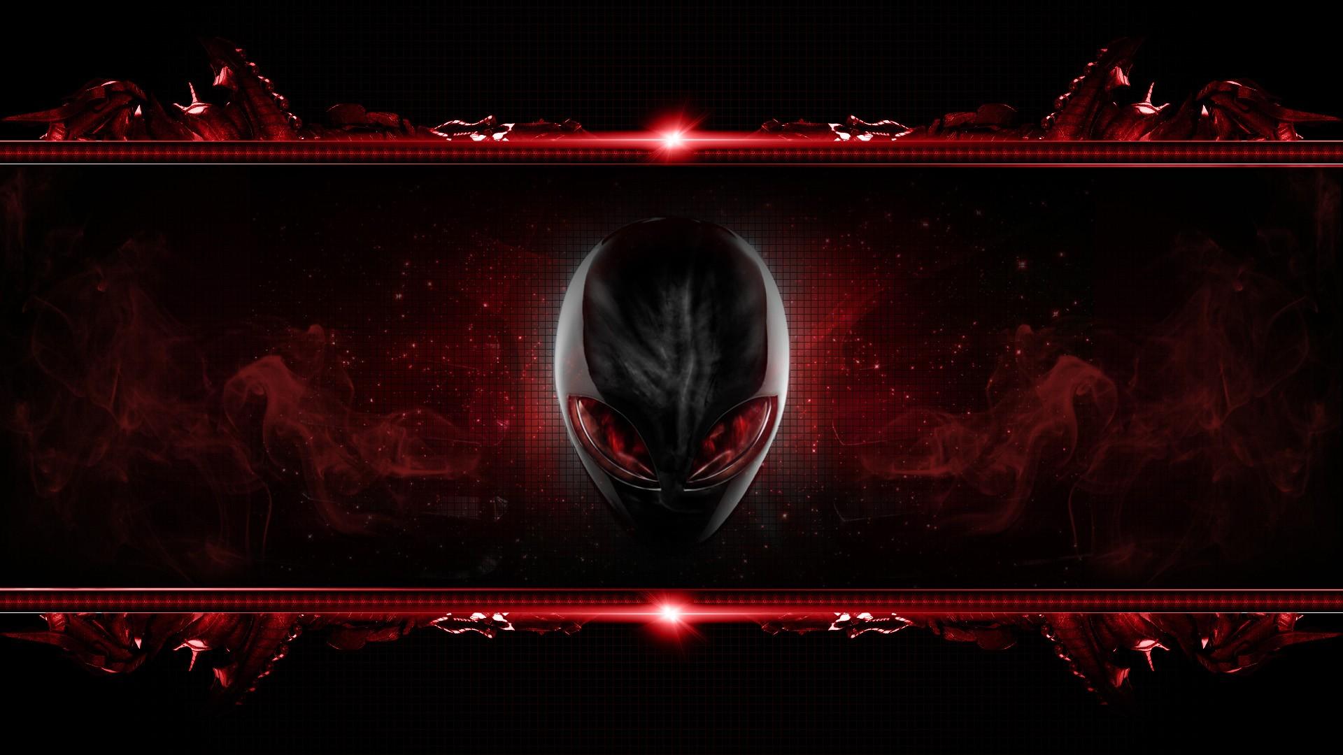 Red Alienware Wallpaper 1920x1080 Red Alienware 1920x1080
