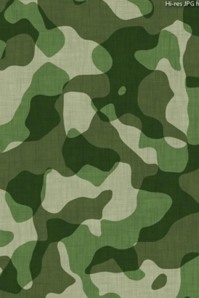green camo iPhone wallpaper 640x960