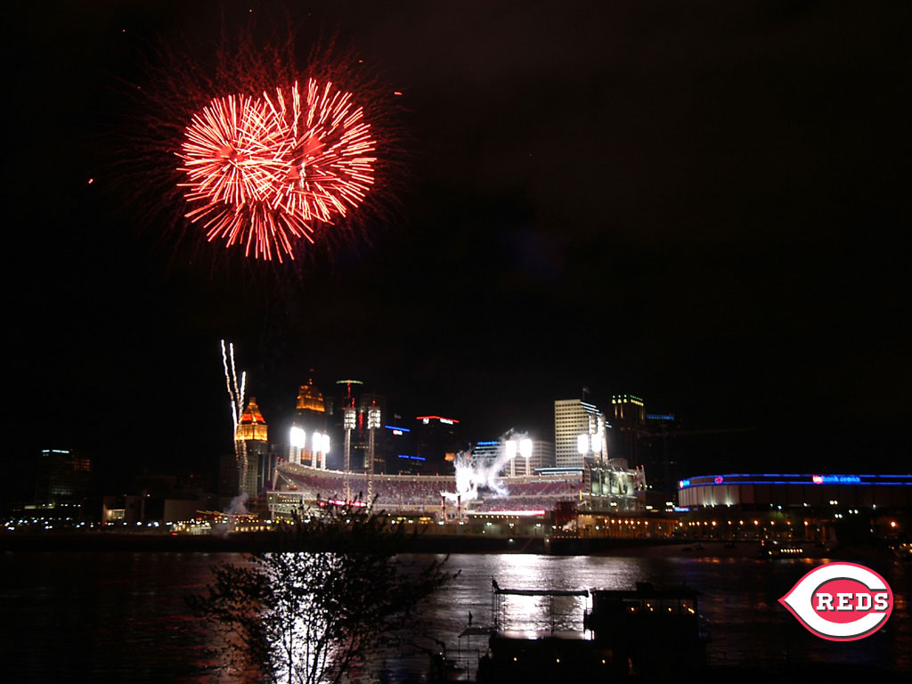 To download Great American Ball Park wallpaper 1024x768
