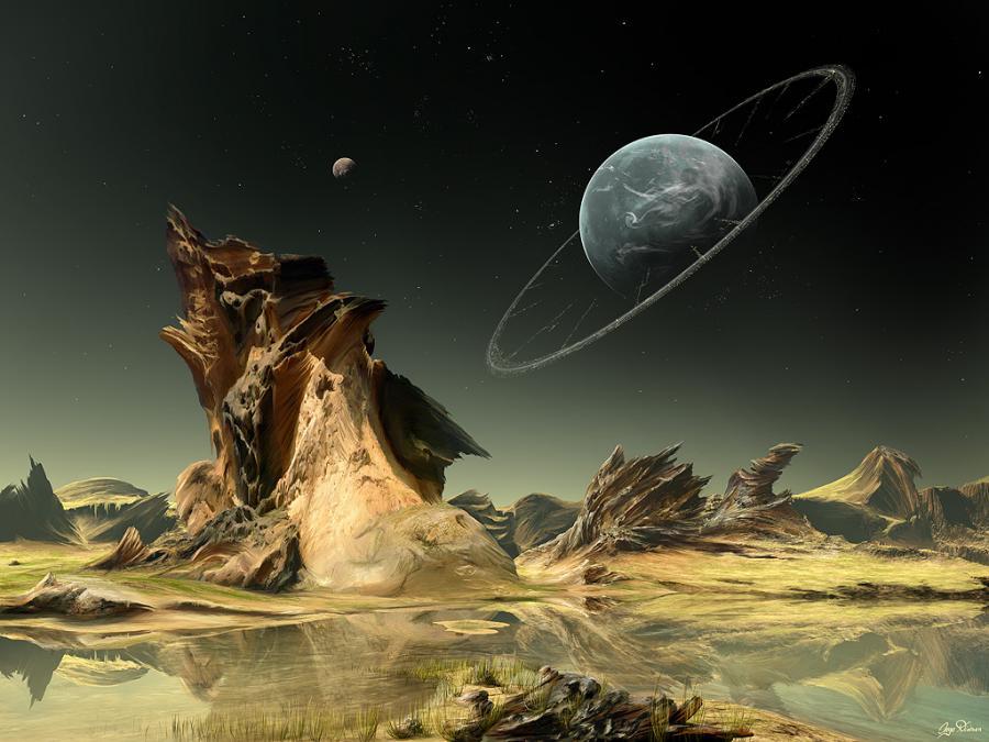 Free Download Alien Landscape Pixdaus 900x675 For Your