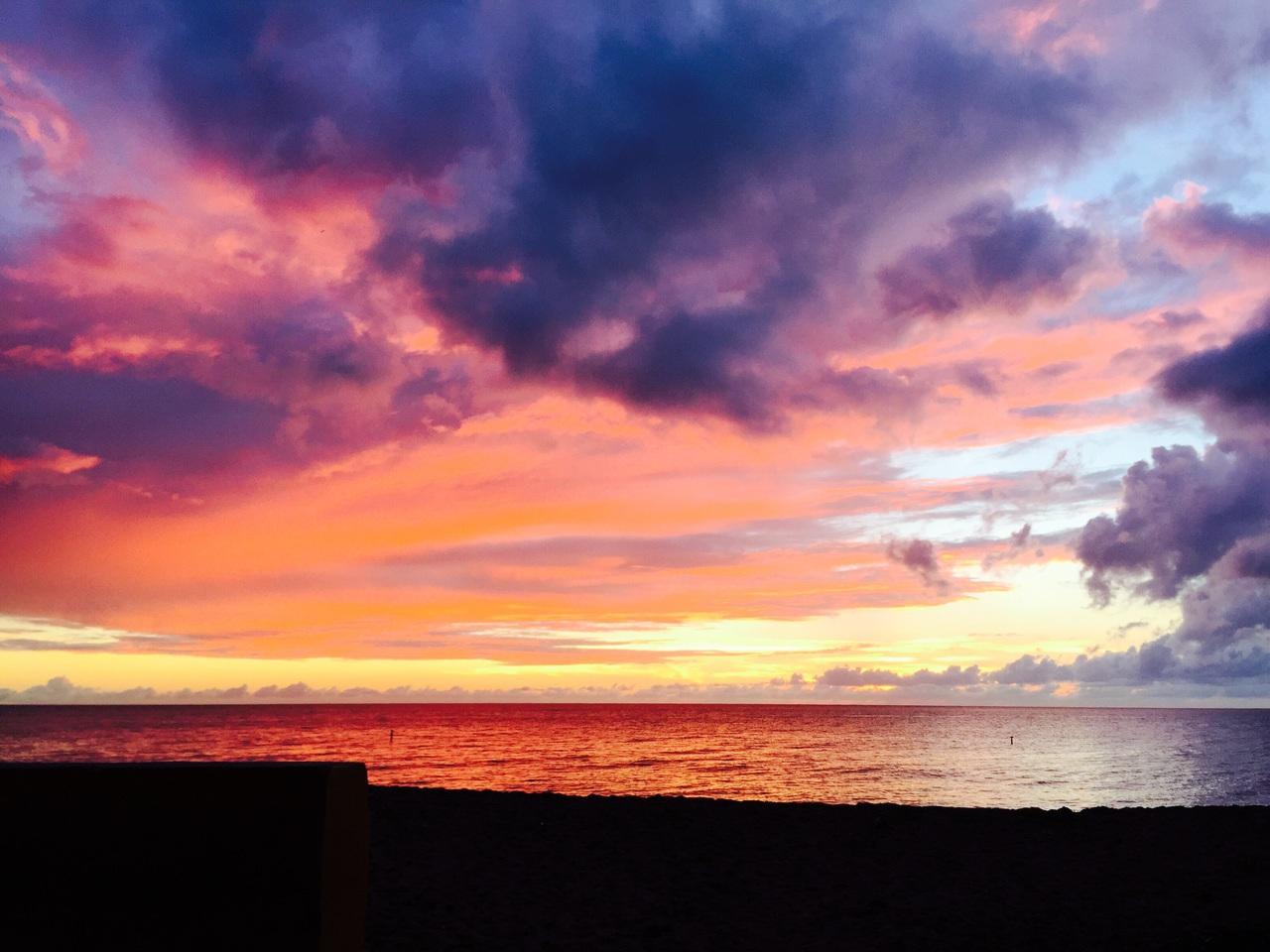 Sunset at Aasco Puerto Rico on We Heart It 1280x960